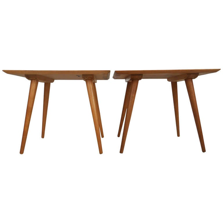 Pair Paul McCobb End Tables for Planner Group