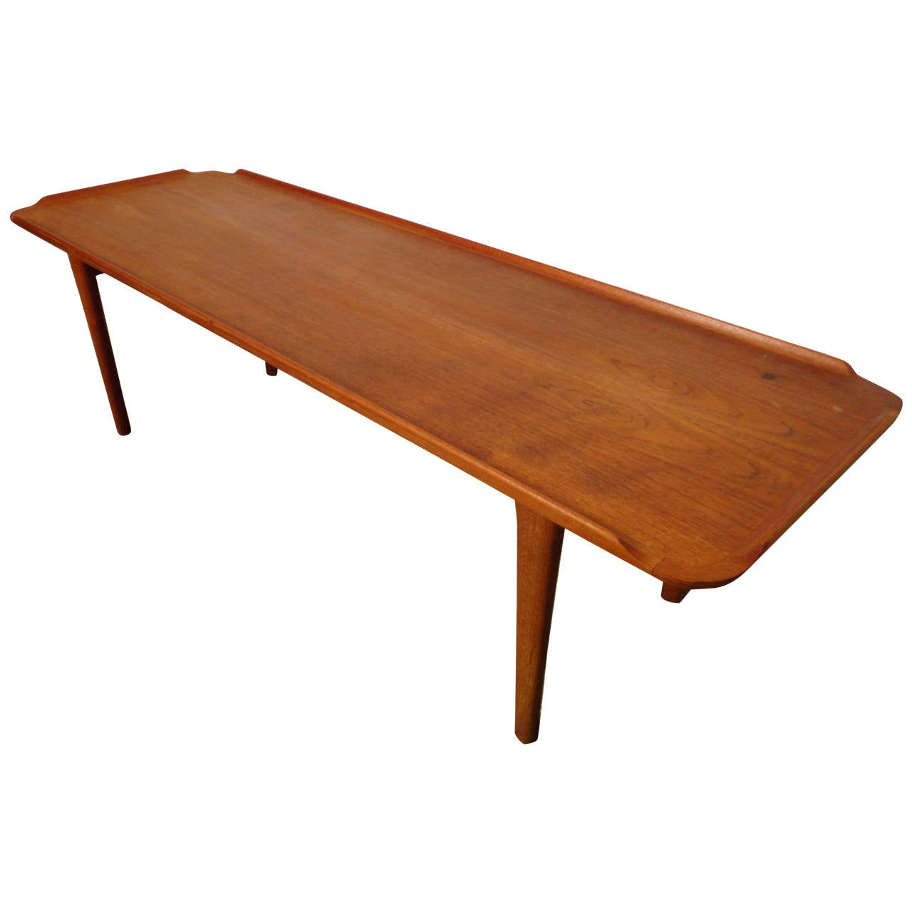 Mid century modern poul jensen danish coffee table at 1stdibs Mid century coffee tables