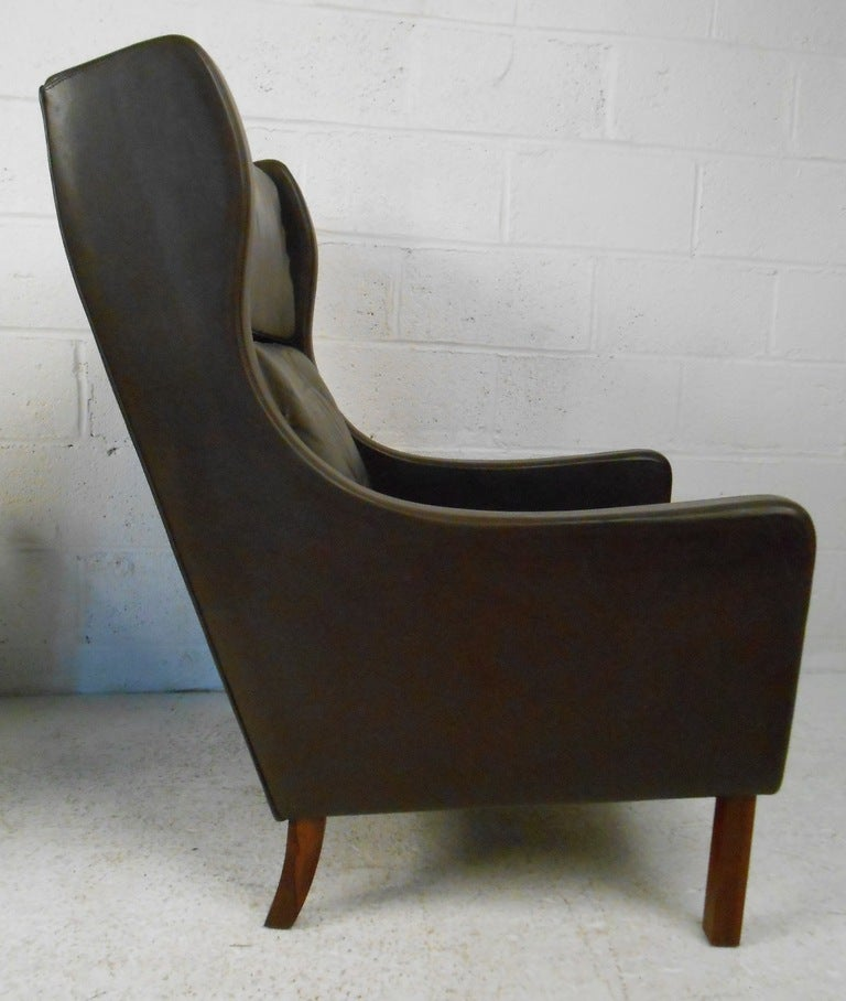 high back leather lounge chairs at 1stdibs