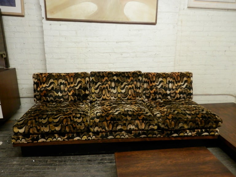American Mid Century Modern Corner Sofa Set By Milo Baughman For Thayer Coggin