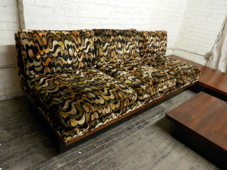 Mid Century Modern Corner Sofa Set By Milo Baughman For