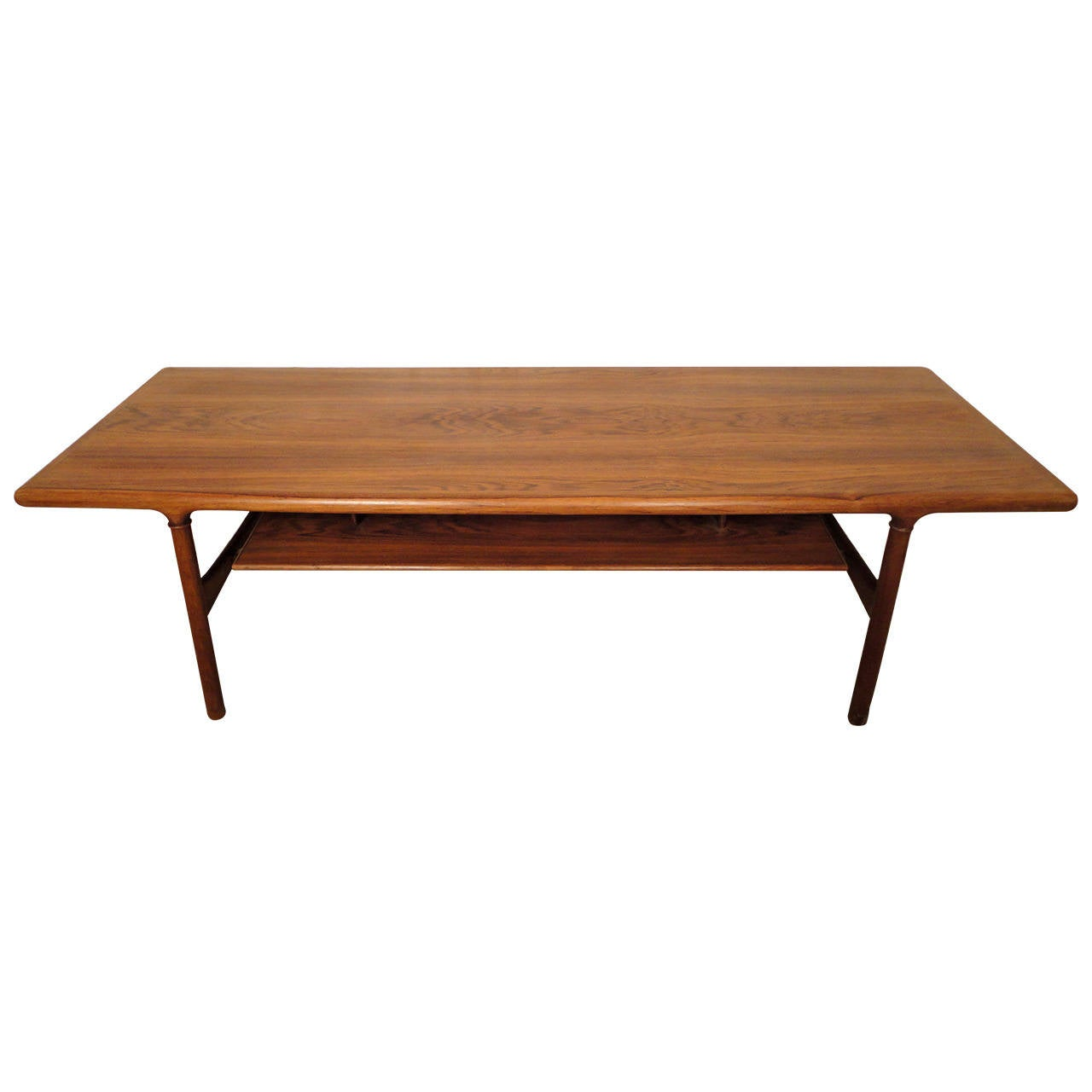 Rare Mid Century Extending Rosewood Coffee Table For Sale At 1stdibs
