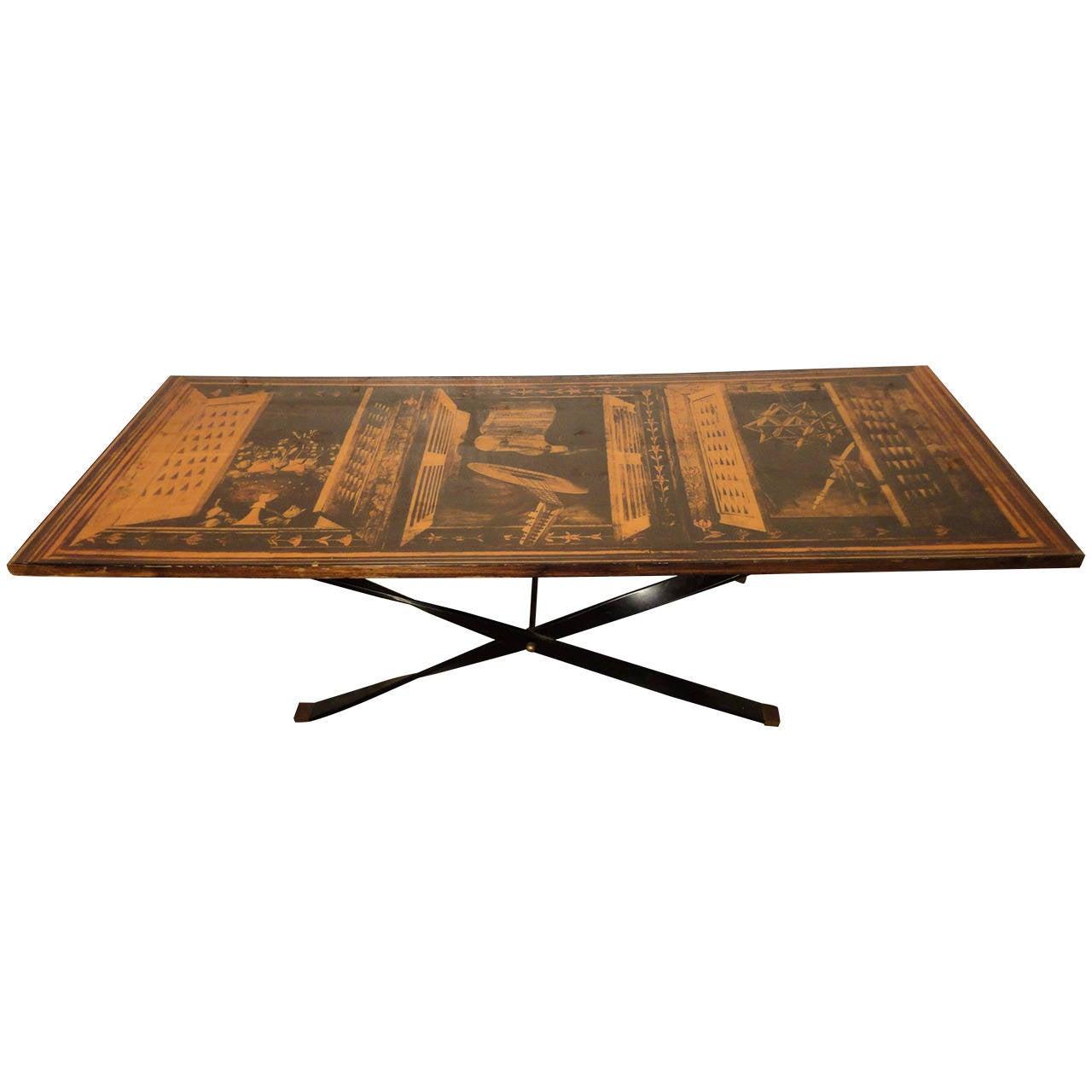 Beautiful Modern Coffee Tables: Mid-Century Modern Coffee Table With Beautiful Laminate