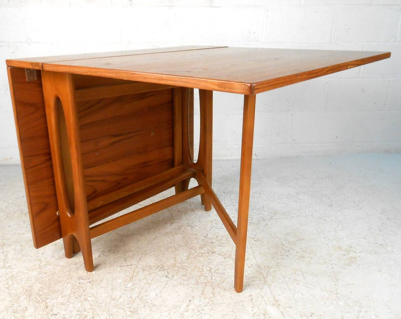 modern drop leaf dining table