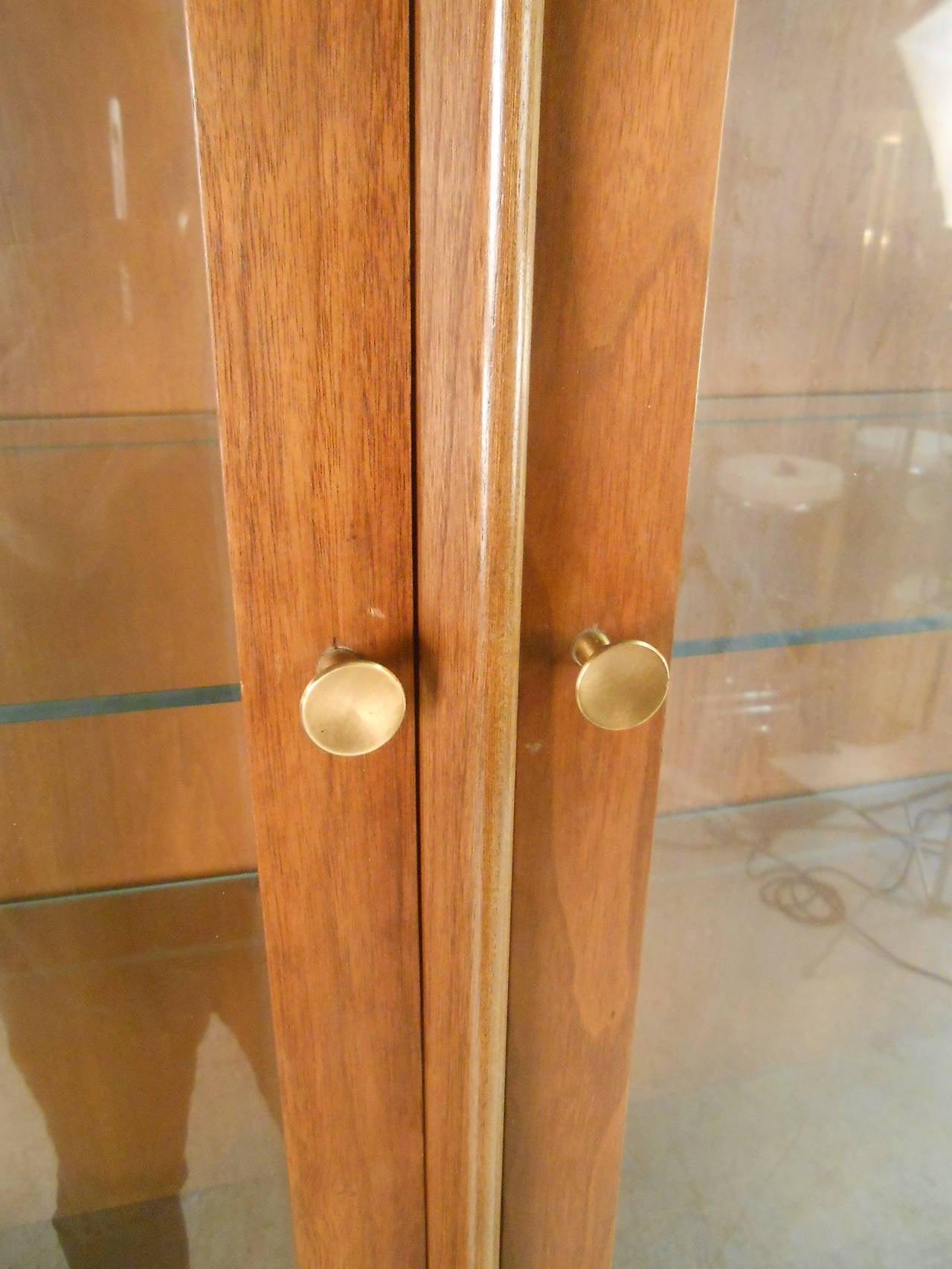 Mid-Century Modern Kent Coffey Perspecta Breakfront Sideboard For Sale 1