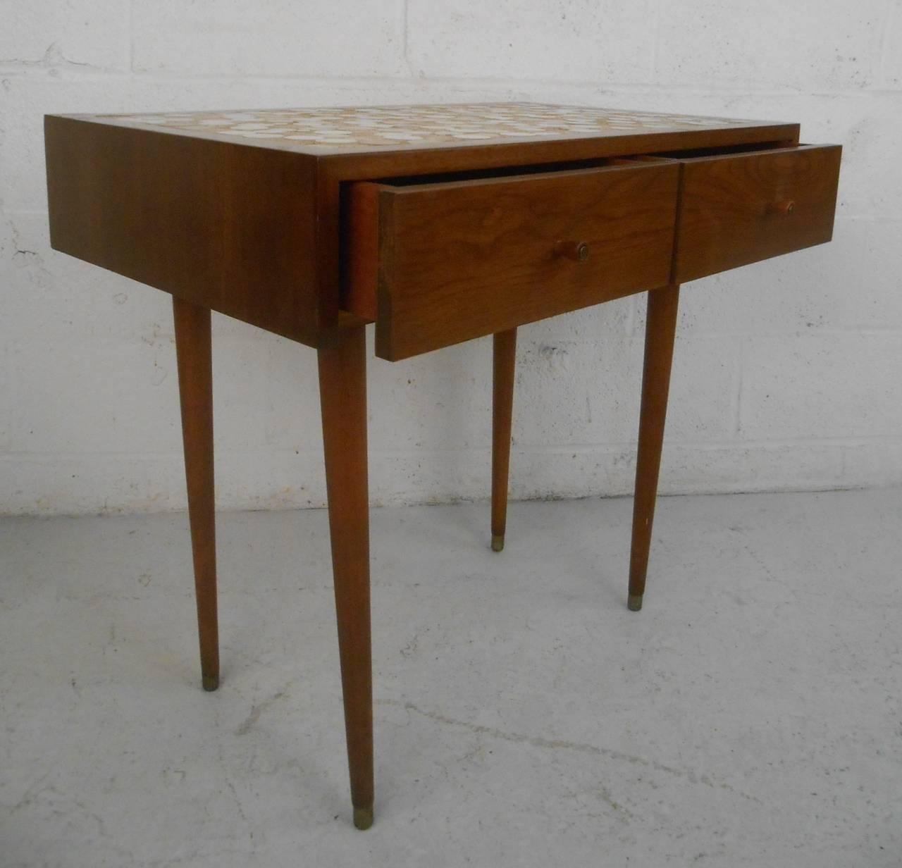 Vintage Tile Table 104