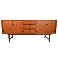 Vintage Italian Modern Sideboard