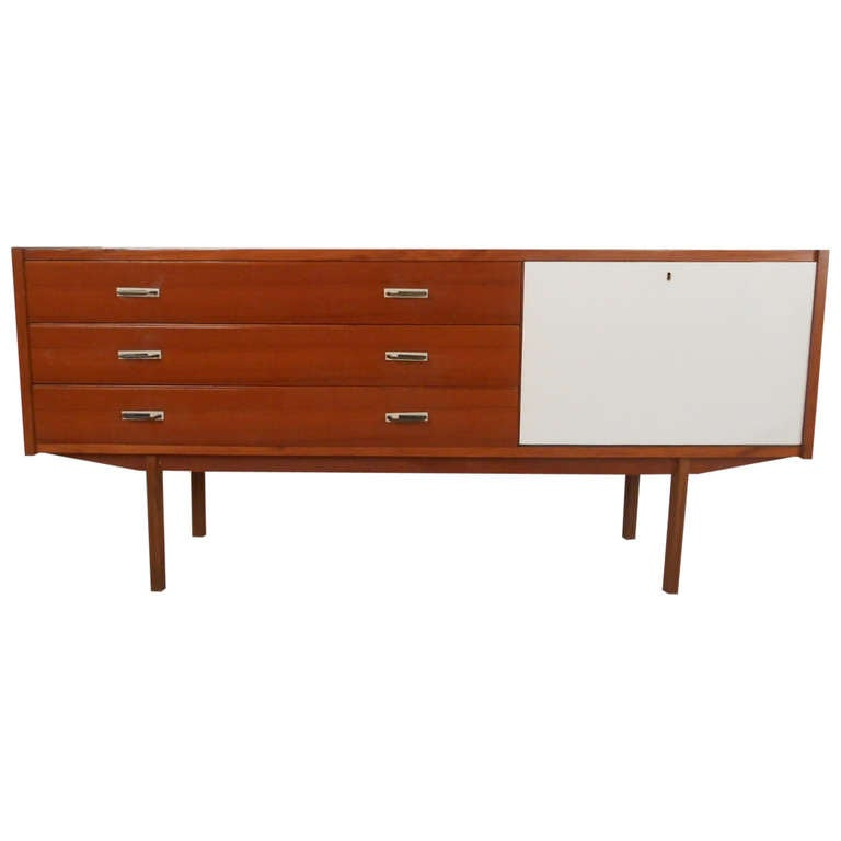 Mid Century Credenza For Sale: Mid-Century Modern Italian Credenza/Server For Sale At 1stdibs