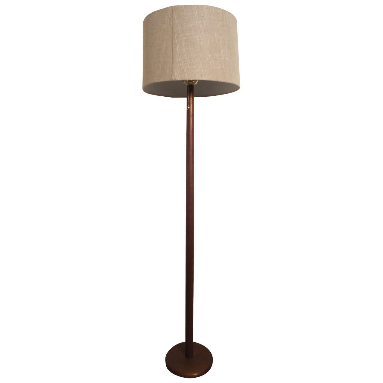 mid century modern danish standing lamp at 1stdibs. Black Bedroom Furniture Sets. Home Design Ideas