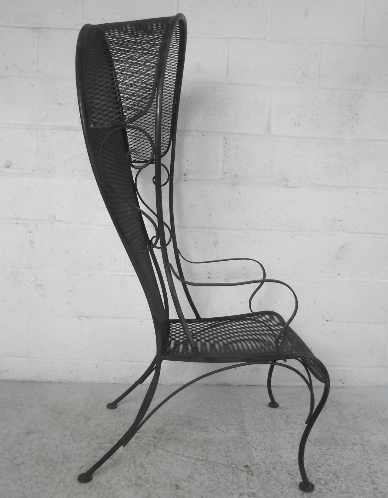 Unique Russell Woodard Style Patio Chair For Sale At 1stdibs