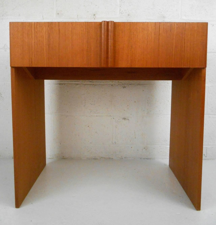 Mid-Century Modern Danish Teak Vanity Dressing Table by ...
