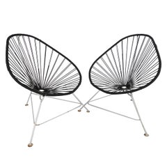 Pair Mid-Century Modern Acapulco Chairs