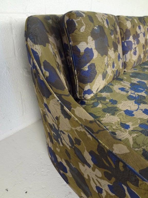 Harvey Probber Sofa With Jack Lenor Larsen Fabric At 1stdibs