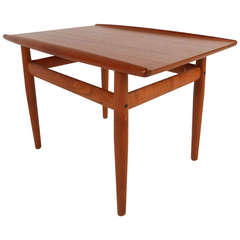 Small Danish Teak Coffee Table