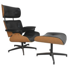 Lounge Chair and Ottoman by Plycraft