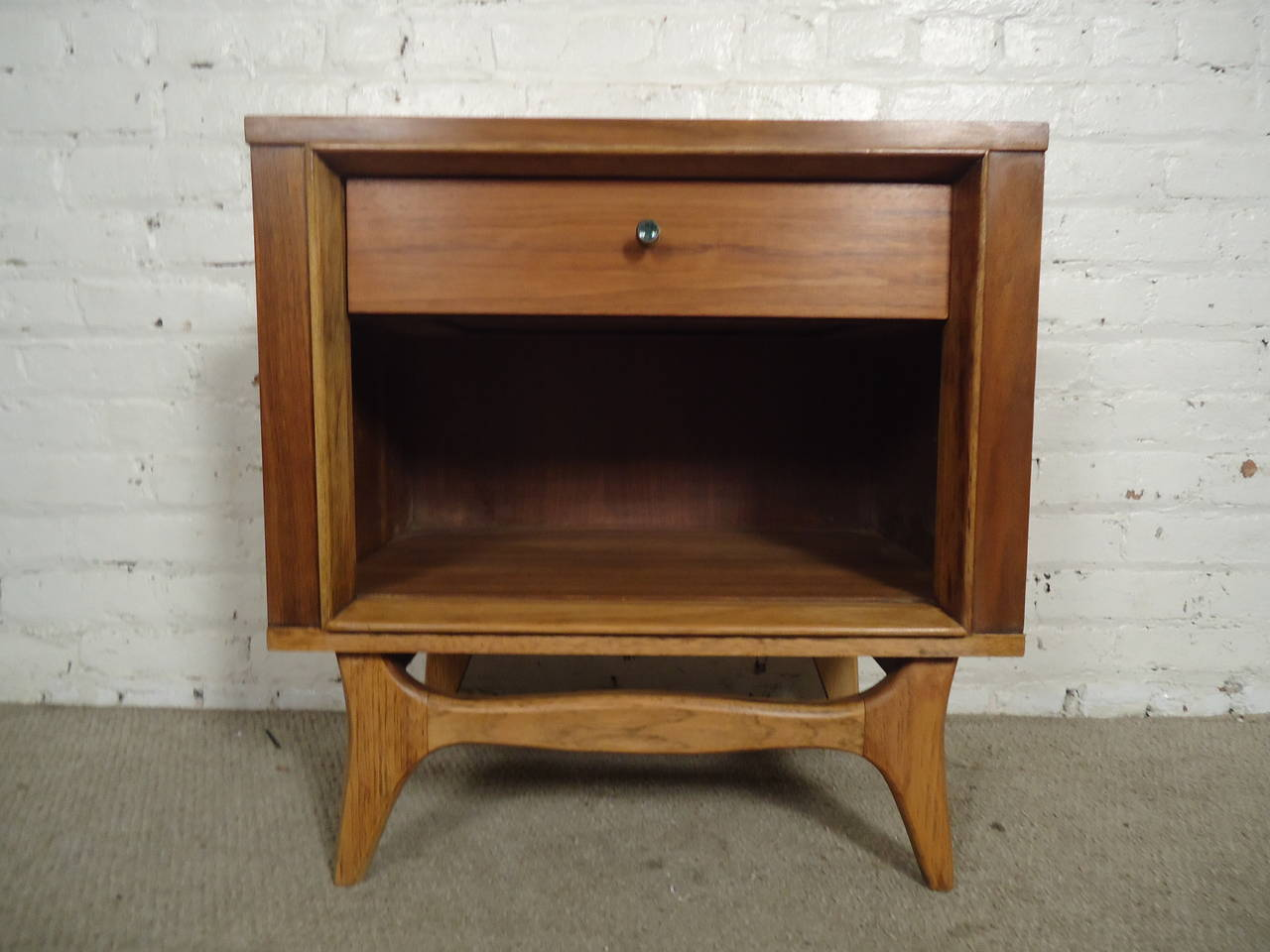 Mid century modern nightstand by kent coffey 2
