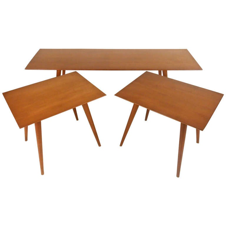 Vintage Coffee Table Set after Paul McCobb