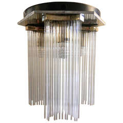 Mid-Century Waterfall Chandelier by Gaetano Sciolari