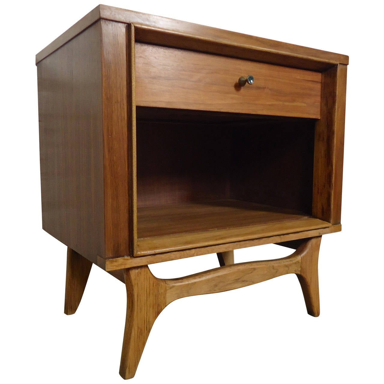 Mid Century Modern Nightstand By Kent Coffey At 1stdibs