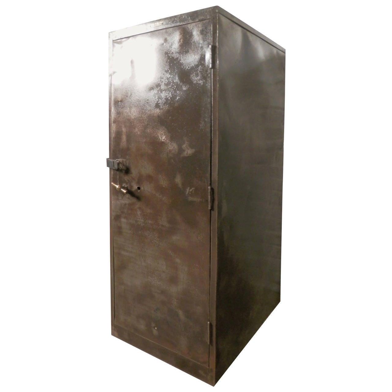 Large Industrial Metal Cabinet by Columbia Steel