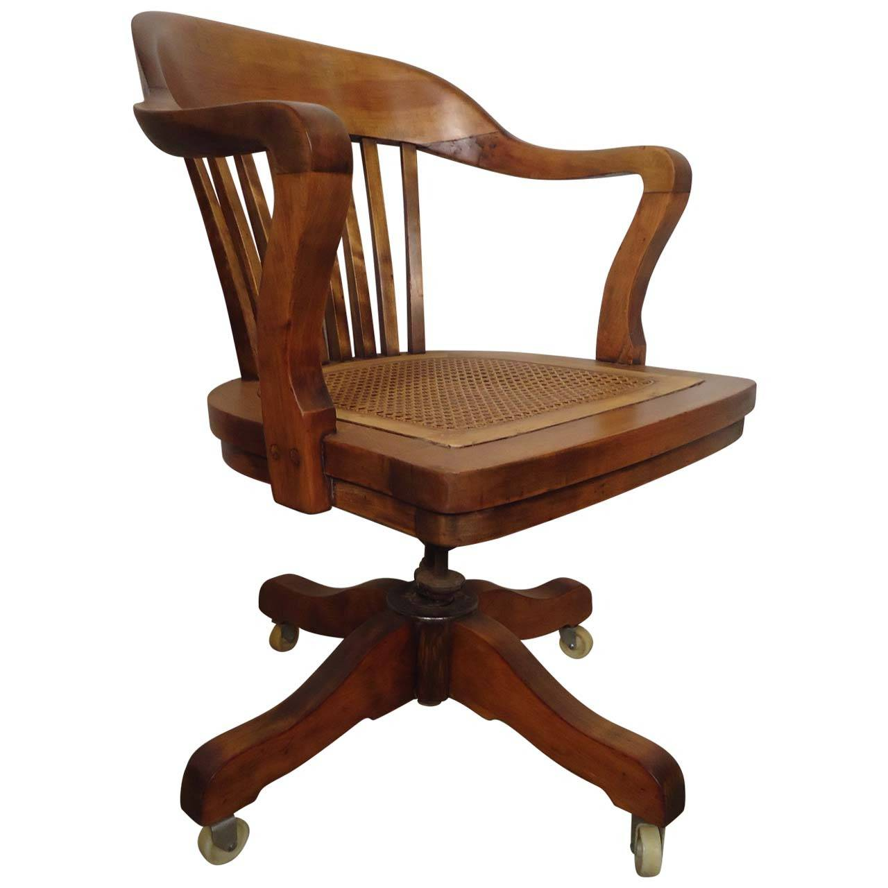 Restored Vintage Swivel Desk Chair By PAGE For Sale - Restored Vintage Swivel Desk Chair By PAGE At 1stdibs