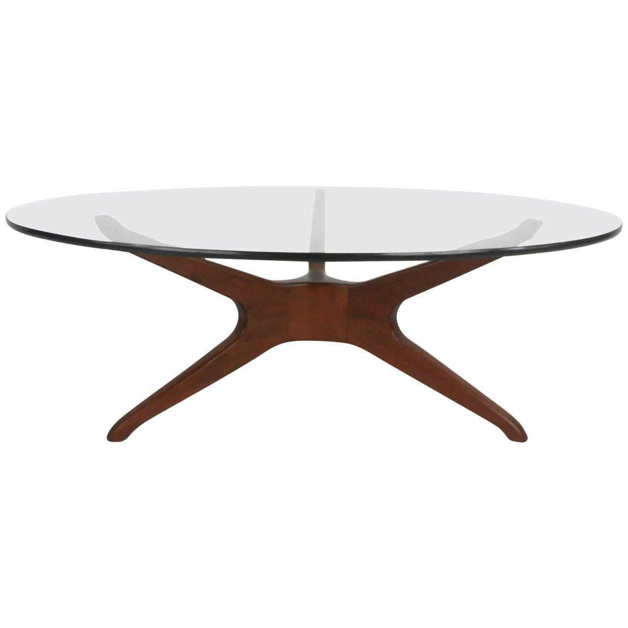 Mid Century Modern Trisymmetric Vladimir Kagan Coffee Table At 1stdibs