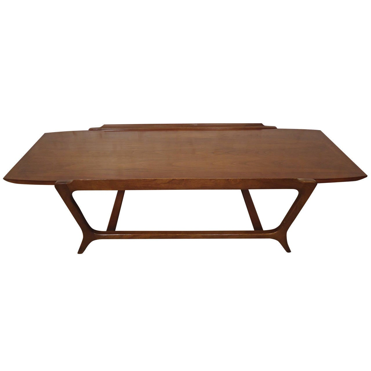 Outstanding Mid-Century Walnut Coffee Table by Lane