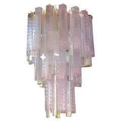 Venini Multi-Color Glass Chandelier