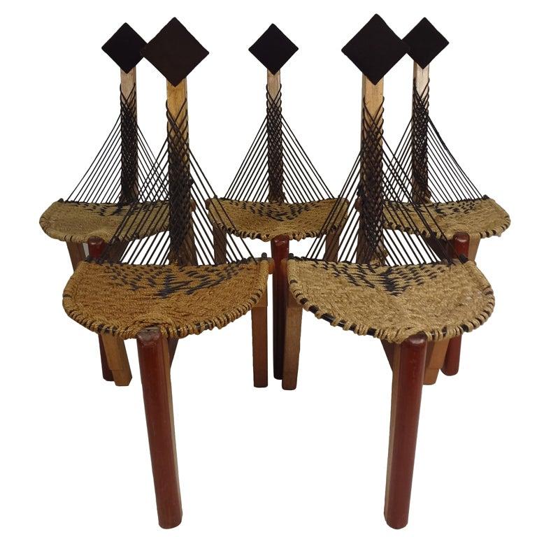 Vintage Studio Rope Chairs