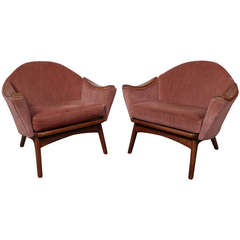 Adrian Pearsall Mid-Century Modern Armchairs