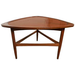 PP Mobler Inspired Triangle Table