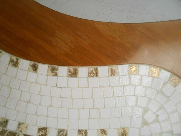 1960s mosaic tile table at 1stdibs for 1960s floor tiles