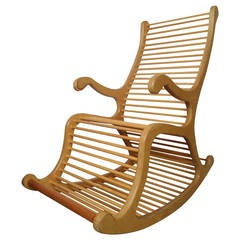 Exceptional Wood Rocking Chair