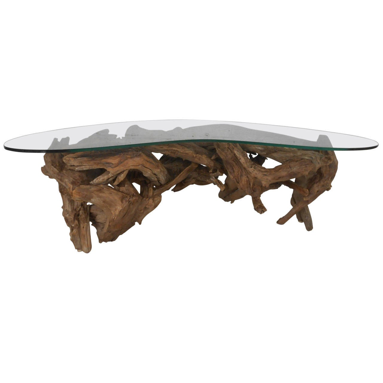 driftwood coffee table at 1stdibs. Black Bedroom Furniture Sets. Home Design Ideas