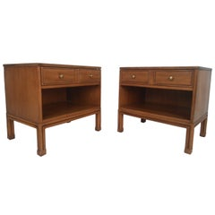 Mid-Century Modern Nightstands by Davis Cabinet Co.