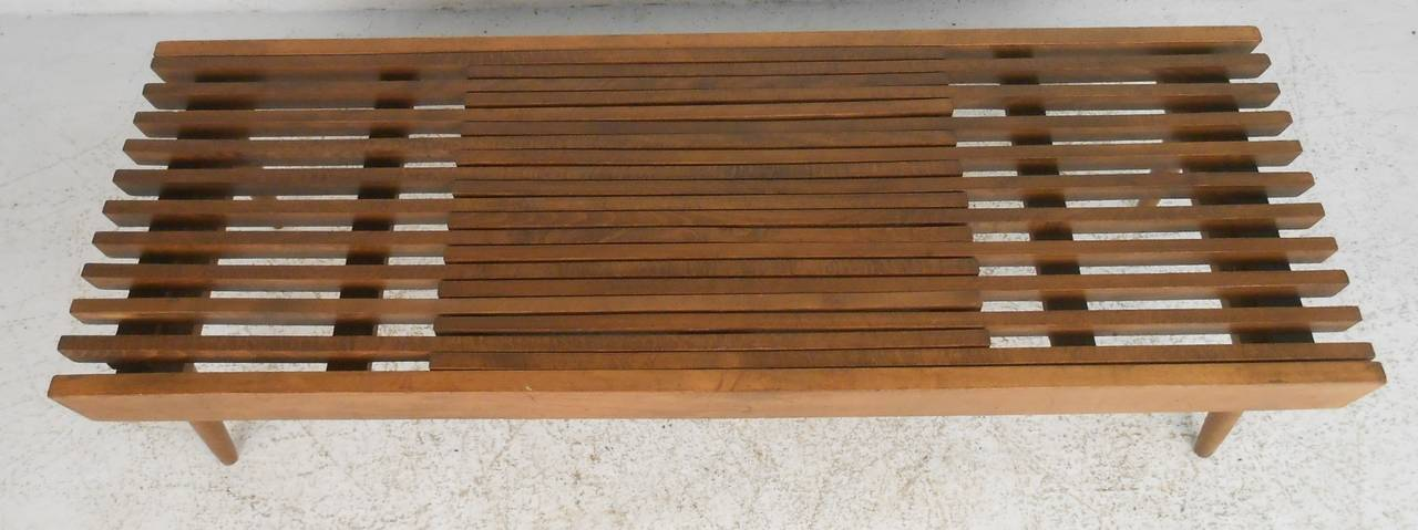 Expanding Slat Coffee Table 2