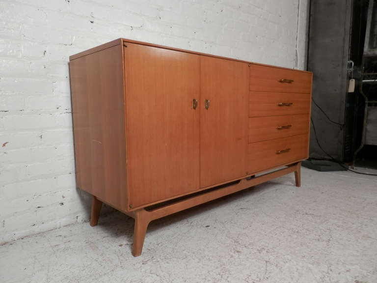 Mid Century Modern Server By R Way For Sale At 1stdibs
