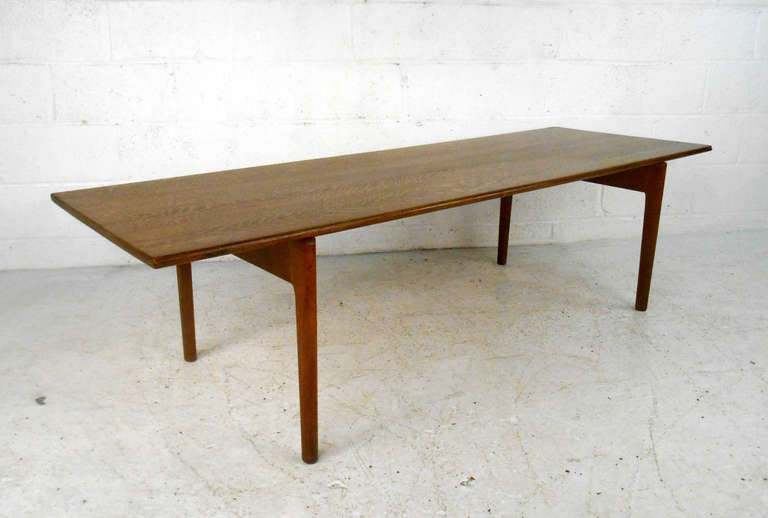 Danish Hans Wegner Coffee Table for Andreas Tuck For Sale