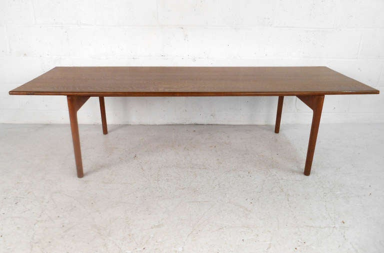 Mid-Century Modern Hans Wegner Coffee Table for Andreas Tuck For Sale