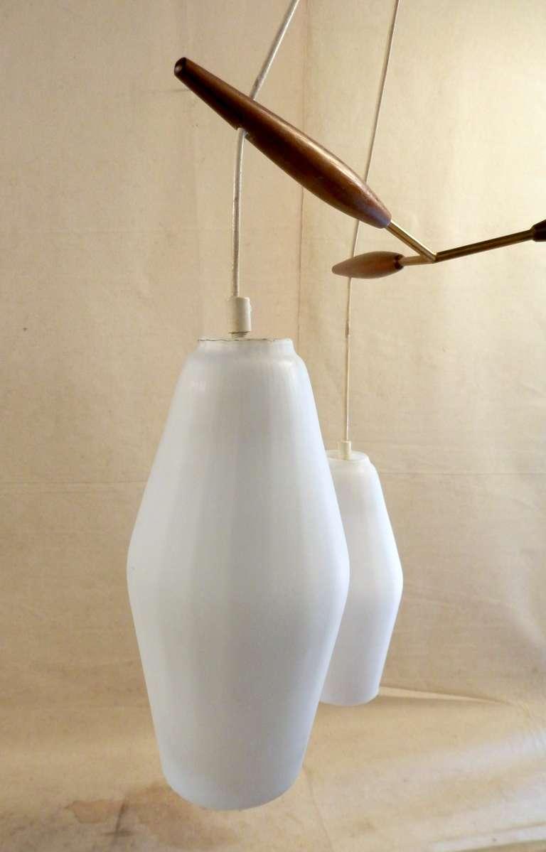 Luxus Style Mid Century Modern Pendant Lamp At 1stdibs