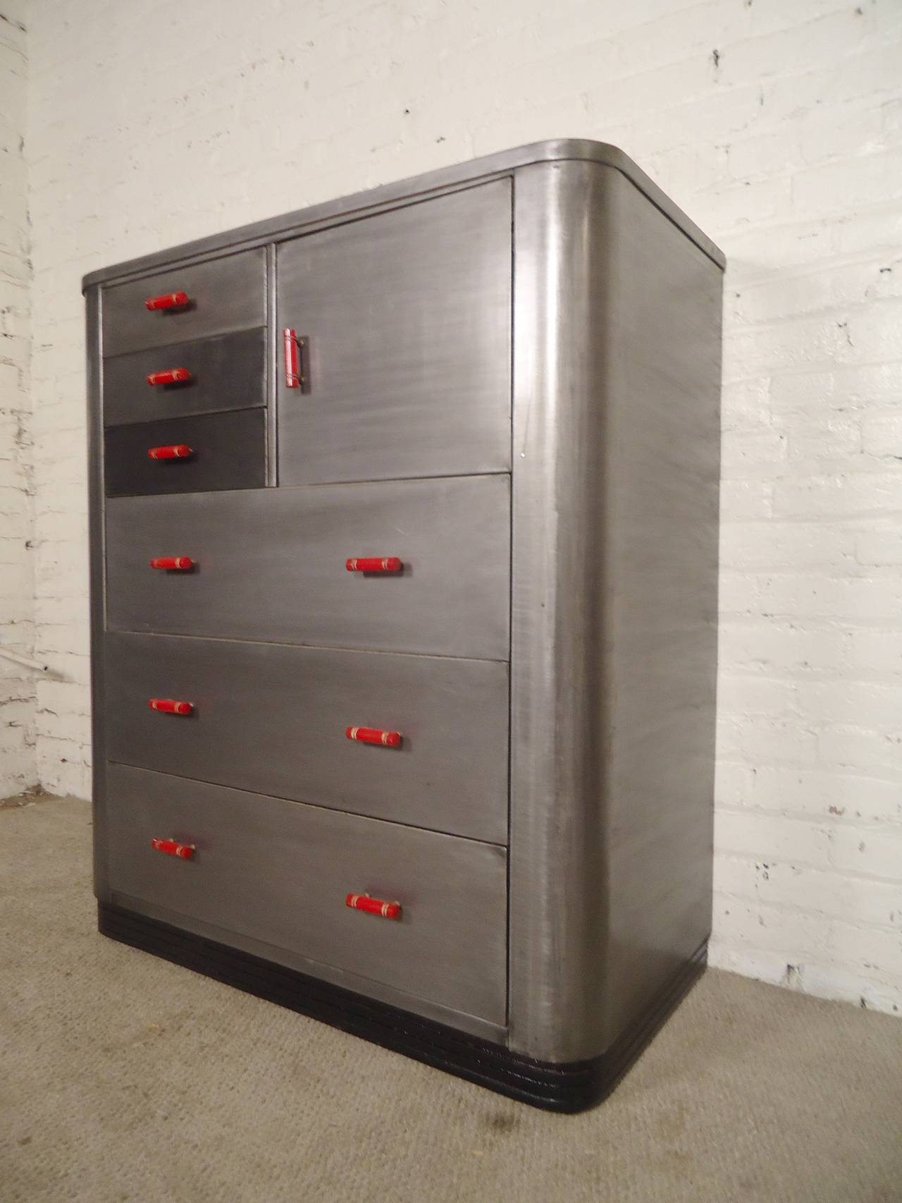 Simmons Tall Dresser by Norman Bel Geddes image 3