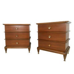 "Pair of Mid-Century Modern ""the Appointment"" Nightstands by Kent Coffey"
