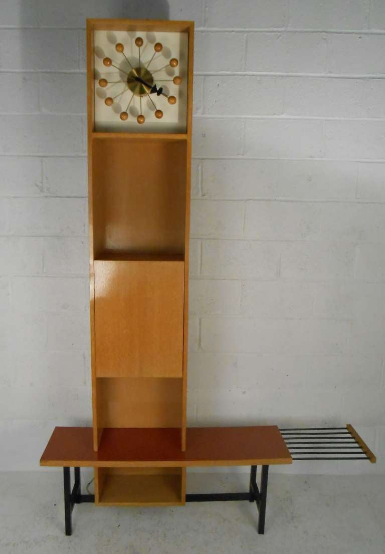 George Nelson Grandfather Clock By Herman Miller For Sale