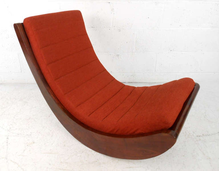 this verner panton attributed rocking chair relaxer is no longer