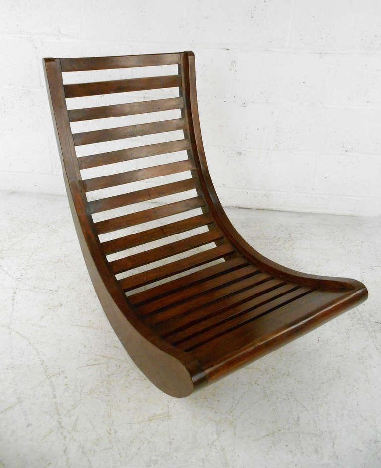 verner panton attributed rocking chair relaxer at 1stdibs. Black Bedroom Furniture Sets. Home Design Ideas