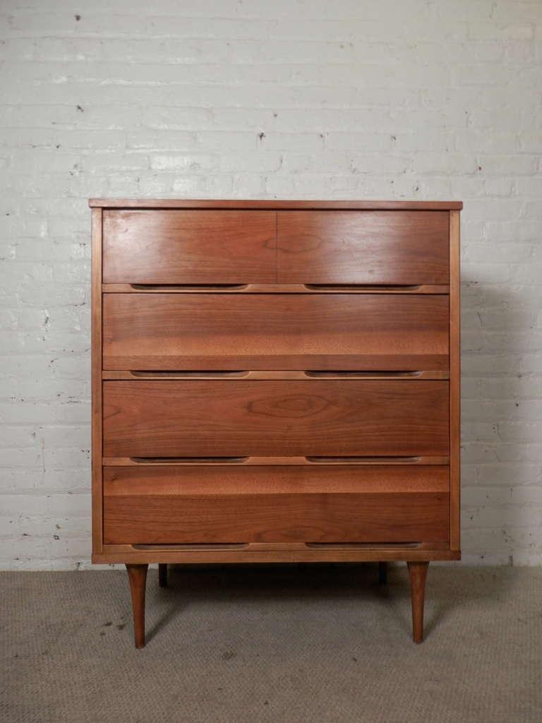 Mid Century Modern Tall Dresser At 1stdibs