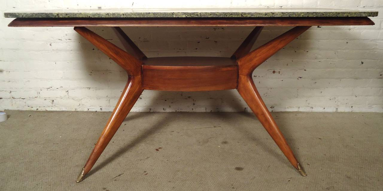 Vintage Dining Table with Gorgeous Marble Top at 1stdibs : DSC01887l from www.1stdibs.com size 1280 x 640 jpeg 85kB