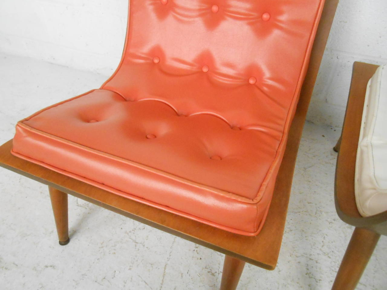 Mid-20th Century Midcentury Bentwood Scoop Chairs by Carter Brothers