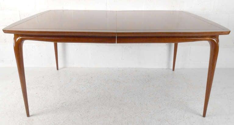 unique mid century walnut dining room set at 1stdibs