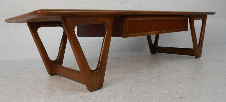Mid Century Modern Lane Furniture Co Coffee Table For Sale At 1stdibs